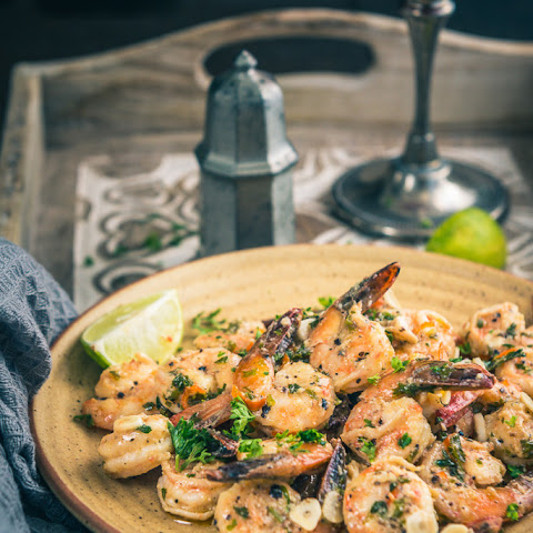 Garlic and Parsley Prawns