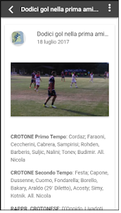 CrotoneSport Screenshot