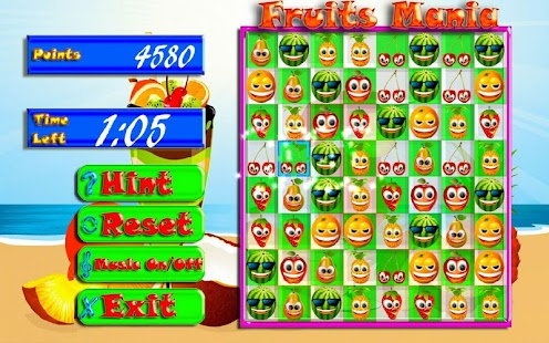 Fruits Mania - screenshot