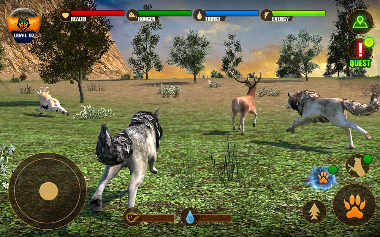Wolf Life Simulation 2017 Screenshot 8