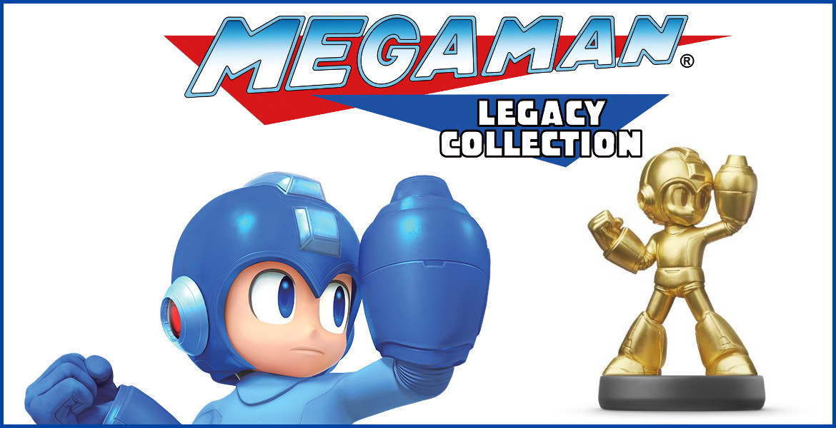 Gold Mega Man Amiibo Announced
