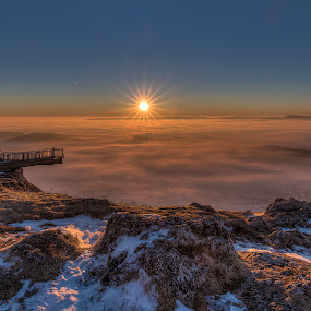 Hohe Wand by Michael Strobl - Landscapes Sunsets & Sunrises ( mountain, hohe wand, sunrise, landscape, austria )