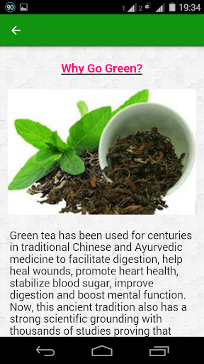 Flat Belly Tea Detox - screenshot