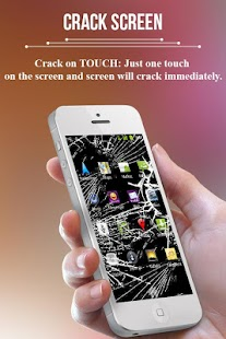 iPhone Crack Screen Prank - screenshot