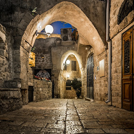 Jaffa, Israel by Dmitriy Andreyev - City,  Street & Park  Historic Districts