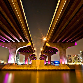 Miami Bridge by Ruel Tafalla - Buildings & Architecture Bridges & Suspended Structures
