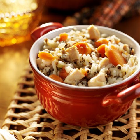 Long Grain And Wild Rice With Mushrooms And Shallots Recipe ...