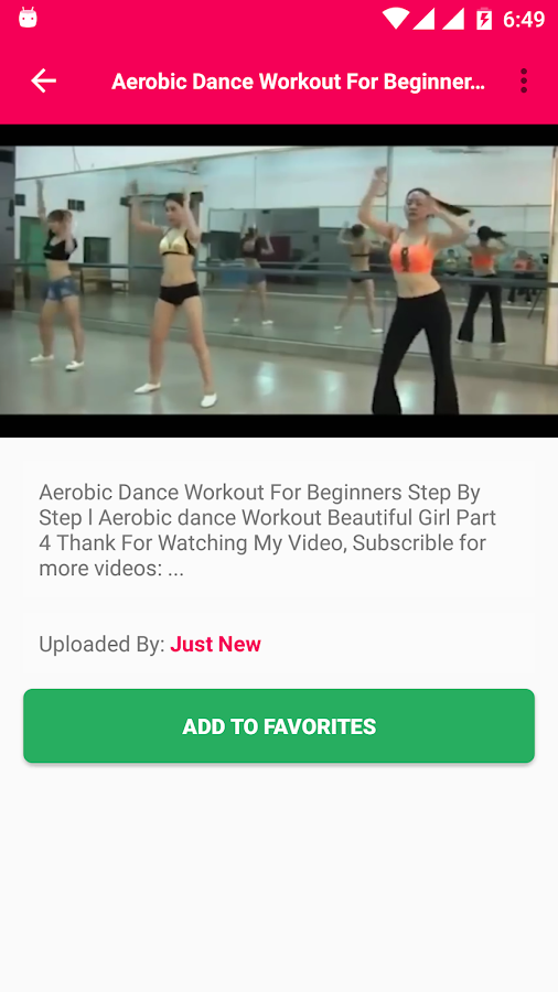Aerobics Exercise Training S Of Fitness Dance Screenshot