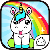Unicorn Evolution - Idle Cute Clicker Game Kawaii Icon