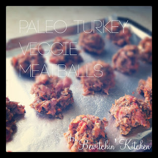 Paleo Turkey Veggie Meatballs