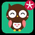 App Tema cute owl apk for kindle fire