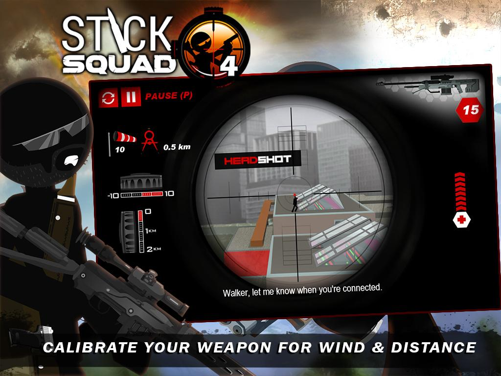 Stick Squad 4 - Sniper's Eye Screenshot 8