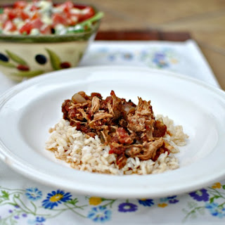 Skinny Slow Cooker Balsamic Chicken