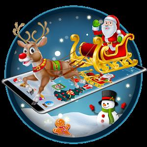 Merry Christmas Santa theme For PC