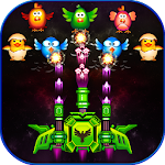 Chicken Shooter : Space Attack Icon