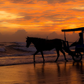sunset by Yadi Setiadi - Transportation Other