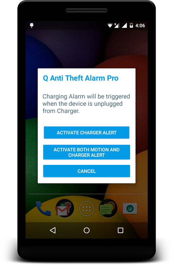 Q Anti Theft Alarm Pro Screenshot 3