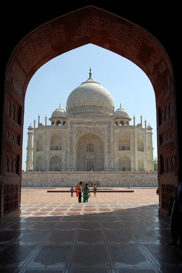 Taj Framed by Dipankar Debnath - Buildings & Architecture Other Exteriors