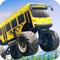 Game Crazy Monster Bus Stunt Race apk for kindle fire