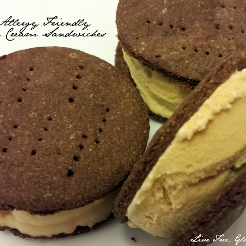 Allergy Friendly Ice Cream Sandwiches