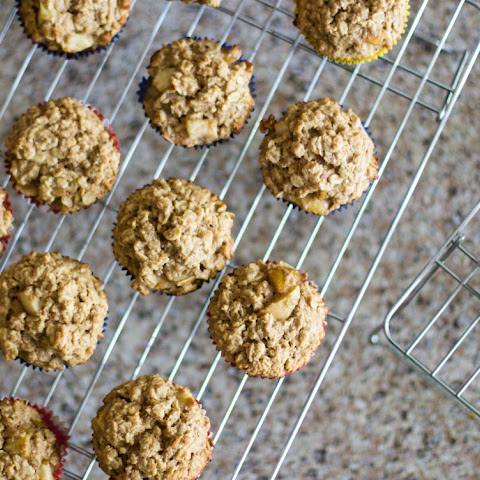 Oats and Pear Wholegrain Muffins