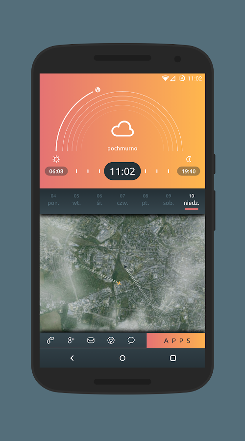 SkyPeach for KLWP Screenshot