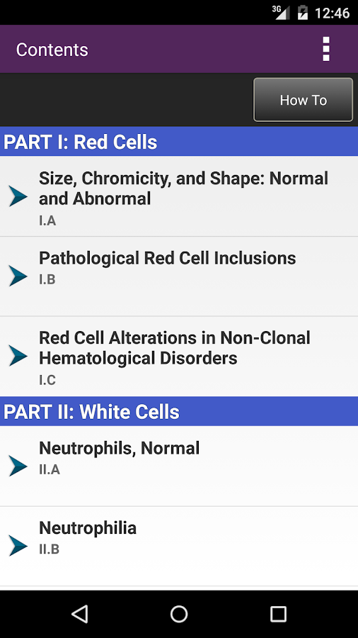 Lichtman's Atlas of Hematology Screenshot 1