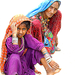 The desert lady by Fawad Hashmi - People Portraits of Women (  )