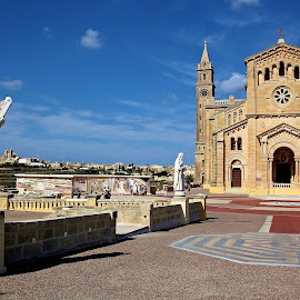 Ta' Pinu Sanctuary, Gozo by Francis Xavier Camilleri - City,  Street & Park  Historic Districts