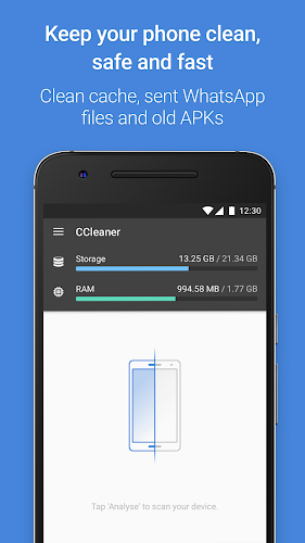 CCleaner Android App Screenshot