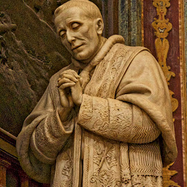 Pope by Jim Antonicello - Buildings & Architecture Places of Worship ( statue, church, praying, pop )