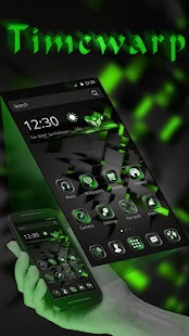 Black Technology Theme for Lollipop - Android 5.0