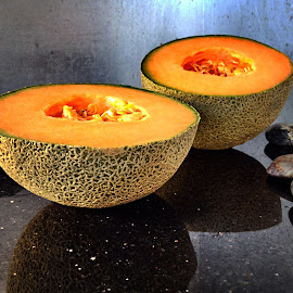 Rock melon by Janette Ho - Food & Drink Fruits & Vegetables
