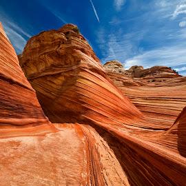 rock formation... by Stanley P. - Landscapes Mountains & Hills ( landscapes, rocks )