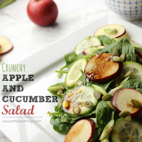 Crunchy Apple And Cucumber Salad
