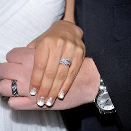 Together by Nolan Burnette - Wedding Bride & Groom ( love, cermony, hands, wedding, white, rings, bride, groom, black, together, hope,  )