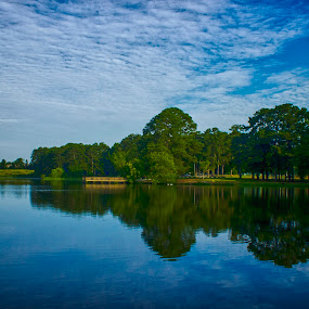 The HDR Reflection by Thomas Vasas - Landscapes Waterscapes ( ponds, nature, scenics, lakes, travel, landscapes,  )