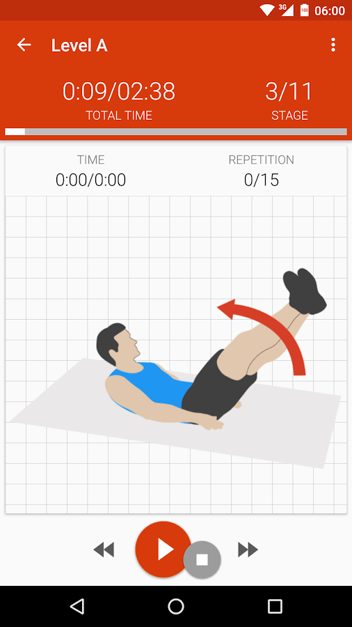Abs workout II PRO Screenshot 0