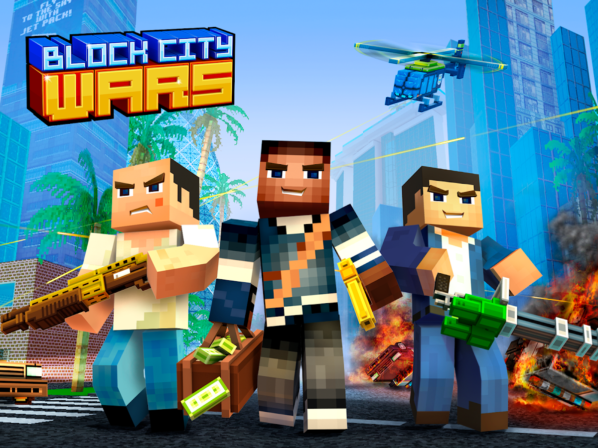 Block City Wars + skins export Screenshot 5