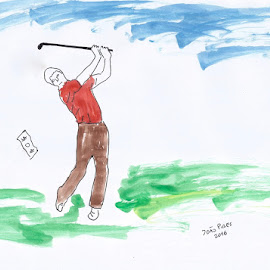 golf and money by Joao Pires - Drawing All Drawing ( sketch, money, sports, sport, golf )