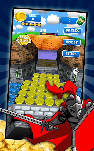Coin Dozer - Classic Castle - screenshot