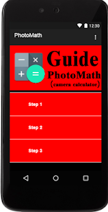 Photomath Guide - screenshot