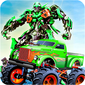 Real Robot Transform Monster Truck Fight For PC / Windows 7/8/10 / Mac – Free Download