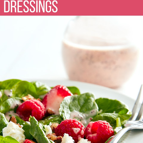 Spinach Salad with Strawberry Poppy Seed Dressing