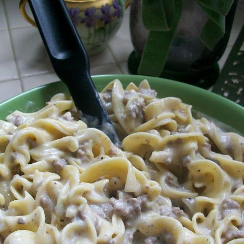 FAST AND FURIOUS FRIDAY- Ground Beef Stroganoff