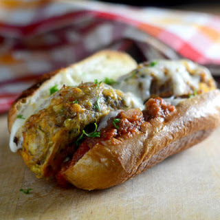 Turkey Meatball Sandwich