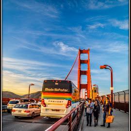 Golden Gate Bridge by Rohan Sen - Buildings & Architecture Bridges & Suspended Structures