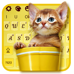 Download Cuteness Kitten Keyboard Theme For PC Windows and Mac