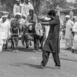 by Mohsin Raza - Black & White Street & Candid