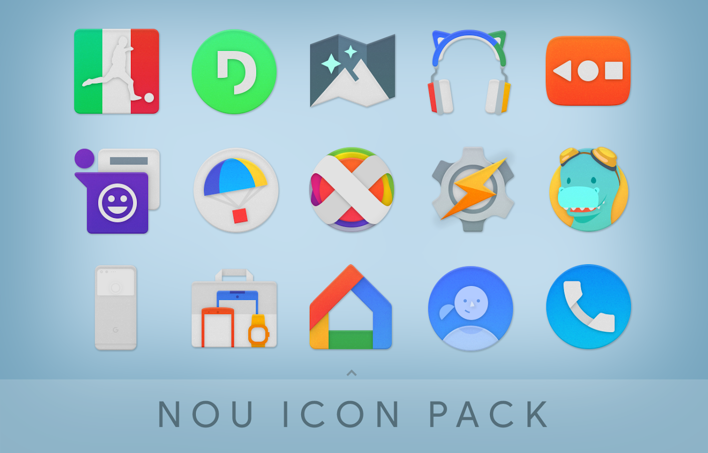 NOU - Icon Pack Screenshot 0